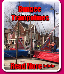 Bungee Trampoline hire, click here for more details