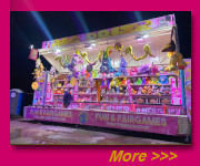 new games stall for 2015 season 25 minute set up  contains 6 games with BIG prizes